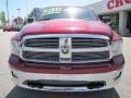 2011 Deep Cherry Red Crystal Pearl Dodge Ram 1500 Big Horn Quad Cab  photo #2