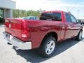 2011 Deep Cherry Red Crystal Pearl Dodge Ram 1500 Big Horn Quad Cab  photo #7