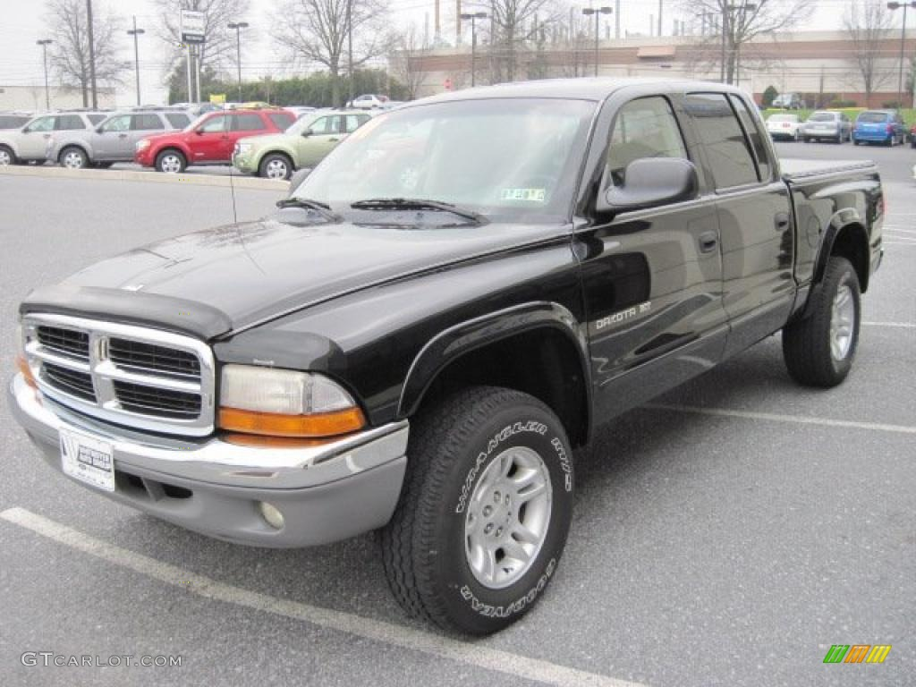 2001 dodge dakota slt quad cab 4x4 exterior photos. Black Bedroom Furniture Sets. Home Design Ideas