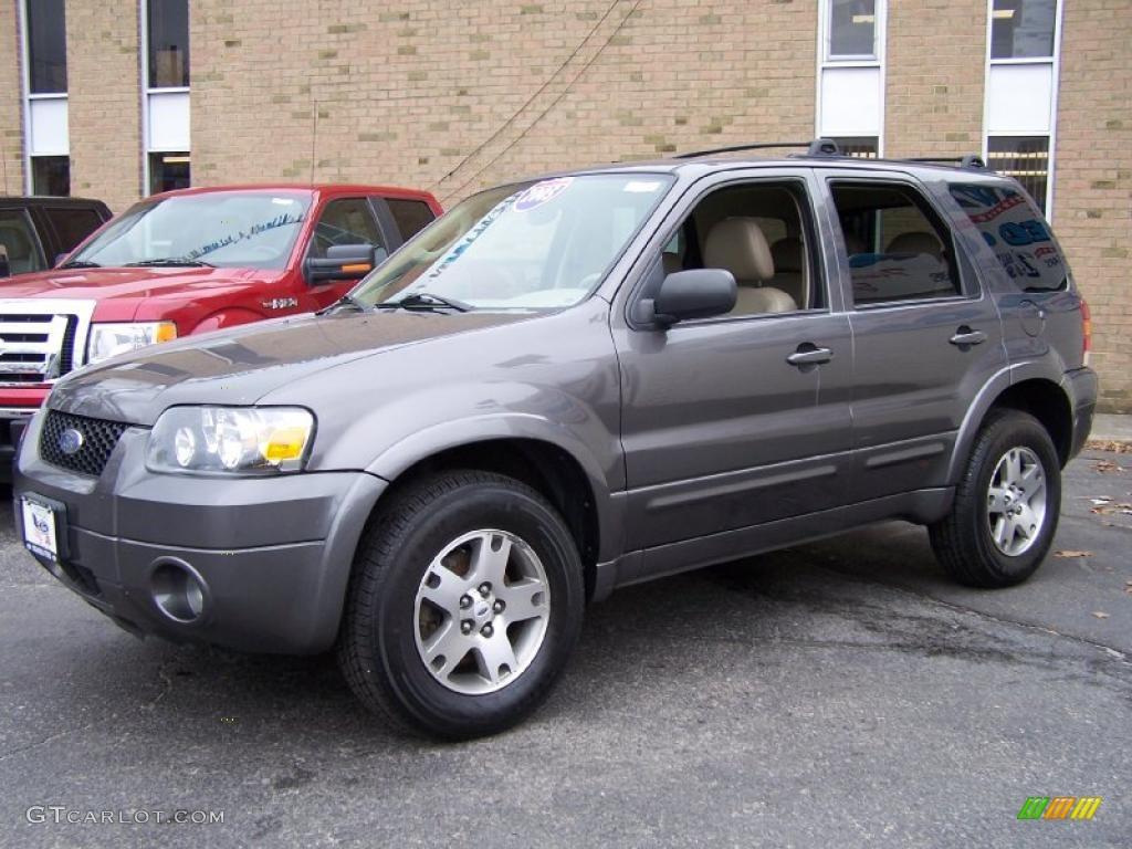 Dark shadow grey metallic ford escape