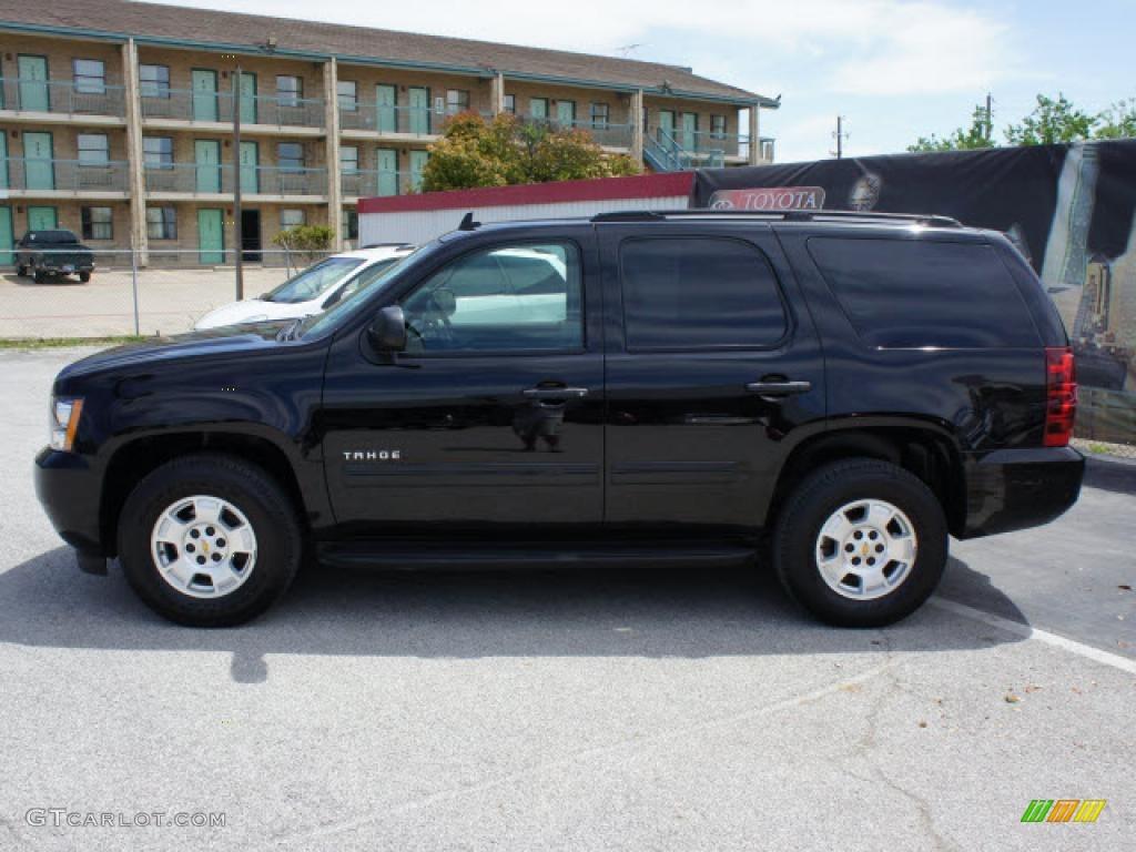 Black 2009 chevrolet tahoe ls exterior photo 47768595