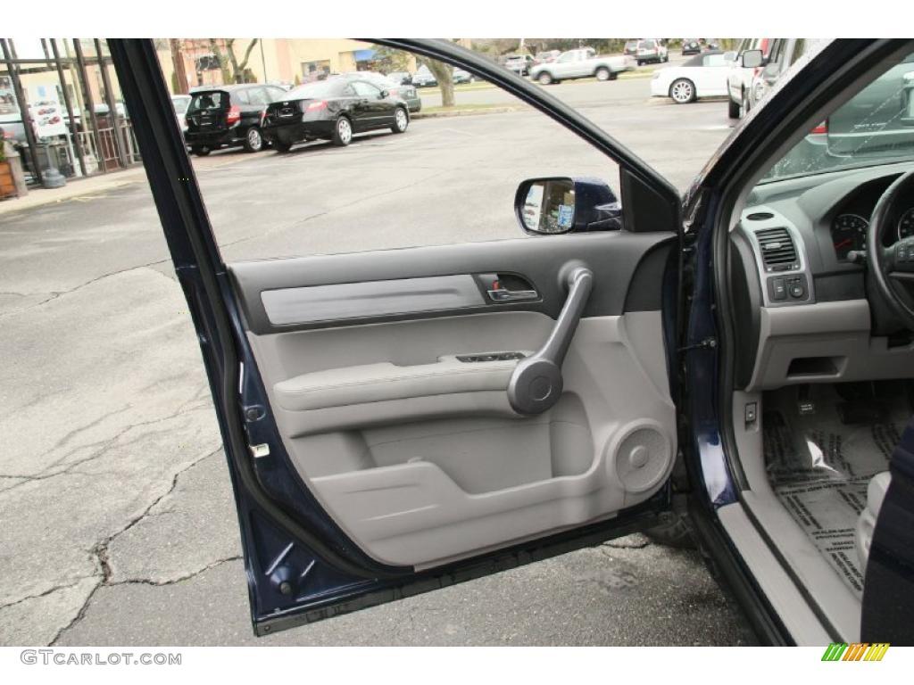 2008 CR-V EX-L 4WD - Royal Blue Pearl / Gray photo #13