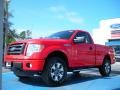 Race Red 2011 Ford F150 STX Regular Cab 4x4