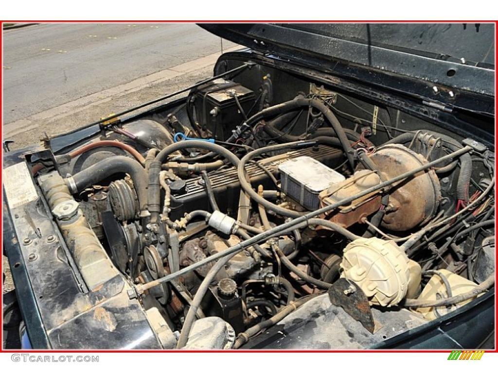 1983 jeep cj 7 4x4 4 2 liter ohv 12 valve inline 6 cylinder engine photo 47781069. Black Bedroom Furniture Sets. Home Design Ideas