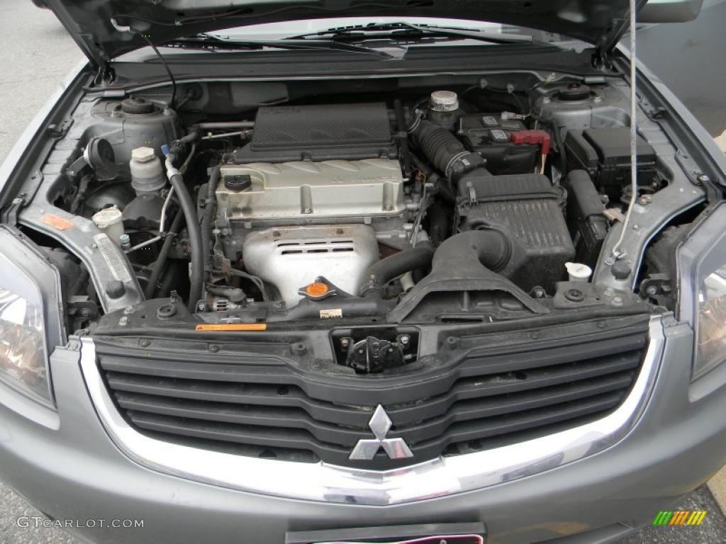 2008 Mitsubishi Galant Es 2 4 Liter Dohc 16v Mivec 4