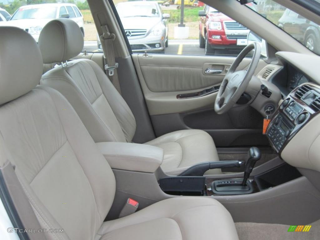 2000 Taffeta White Honda Accord Ex V6 Sedan 47767332