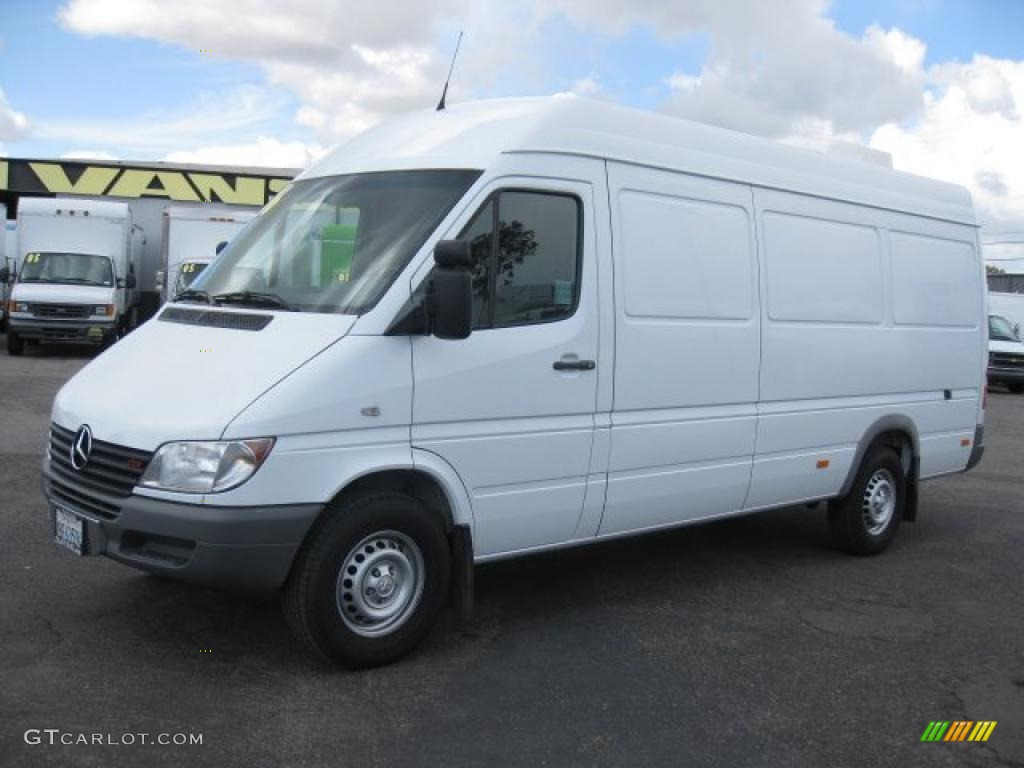 2006 mercedes benz sprinter 2500 high roof cargo exterior