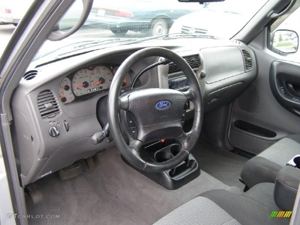 dark graphite interior 2003 ford ranger xlt supercab photo. Black Bedroom Furniture Sets. Home Design Ideas