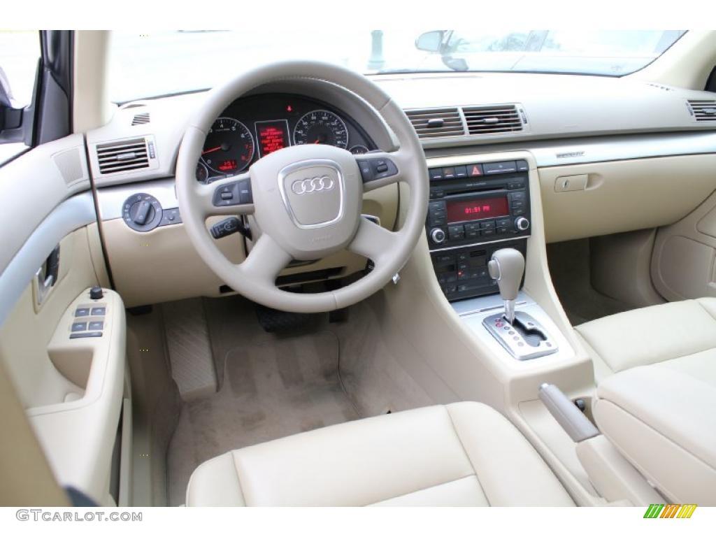 Beige Interior 2008 Audi A4 2 0t Quattro Sedan Photo
