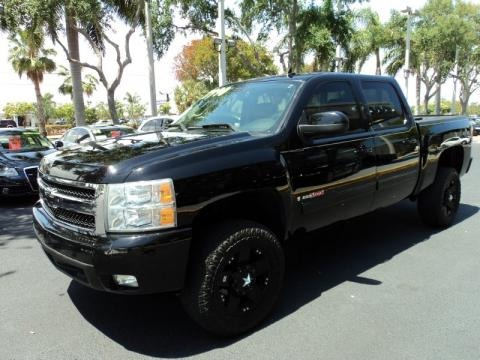 2007 chevrolet silverado 1500 ltz crew cab 4x4 data info. Black Bedroom Furniture Sets. Home Design Ideas