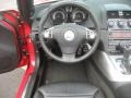 2009 Sky Red Line Roadster Black Interior