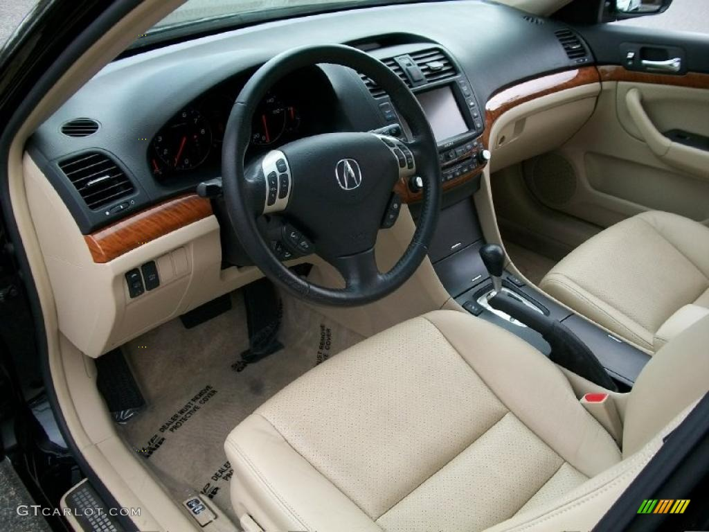 parchment interior 2008 acura tsx sedan photo 47815781. Black Bedroom Furniture Sets. Home Design Ideas