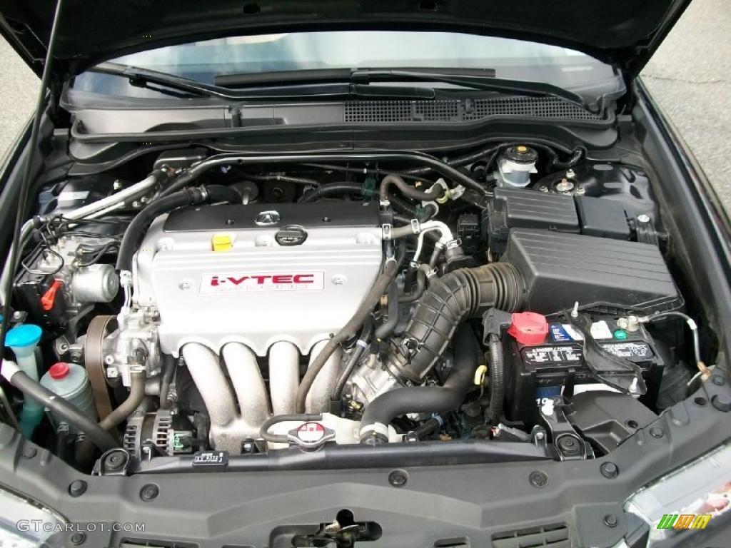 2008 acura tsx sedan 2 4 liter dohc 16v i vtec 4 cylinder engine photo 47816144. Black Bedroom Furniture Sets. Home Design Ideas