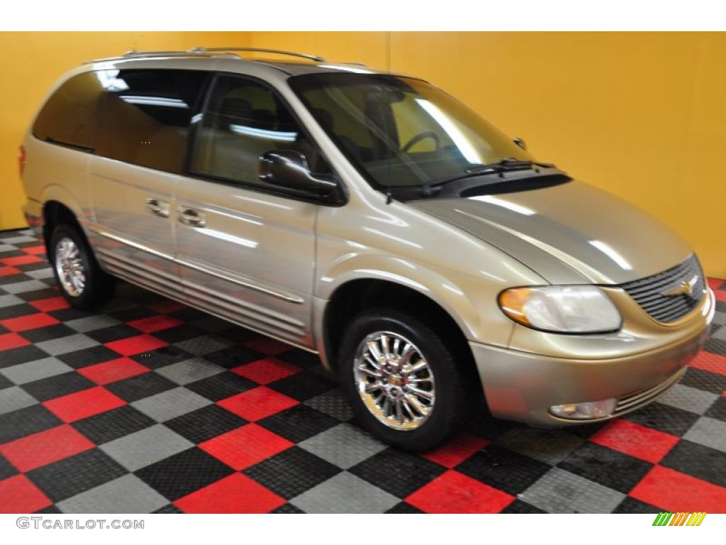 2002 light almond pearl metallic chrysler town country. Black Bedroom Furniture Sets. Home Design Ideas