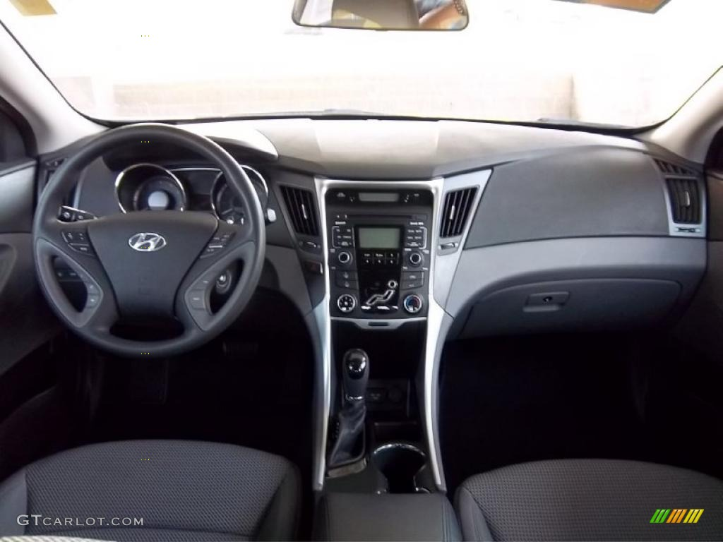 2011 Hyundai Sonata Gls Gray Dashboard Photo 47841242