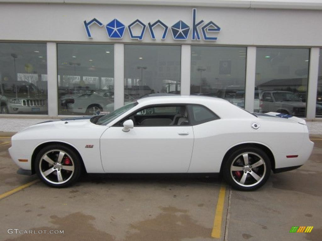 2011 bright white dodge challenger srt8 392 inaugural