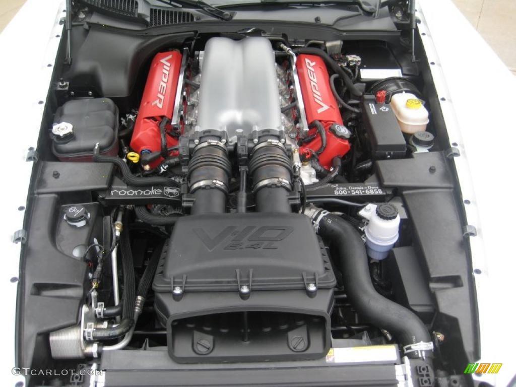 2009 Dodge Viper SRT-10 Coupe 8.4 Liter OHV 20-Valve VVT V10 Engine Photo #47844317 | GTCarLot.com