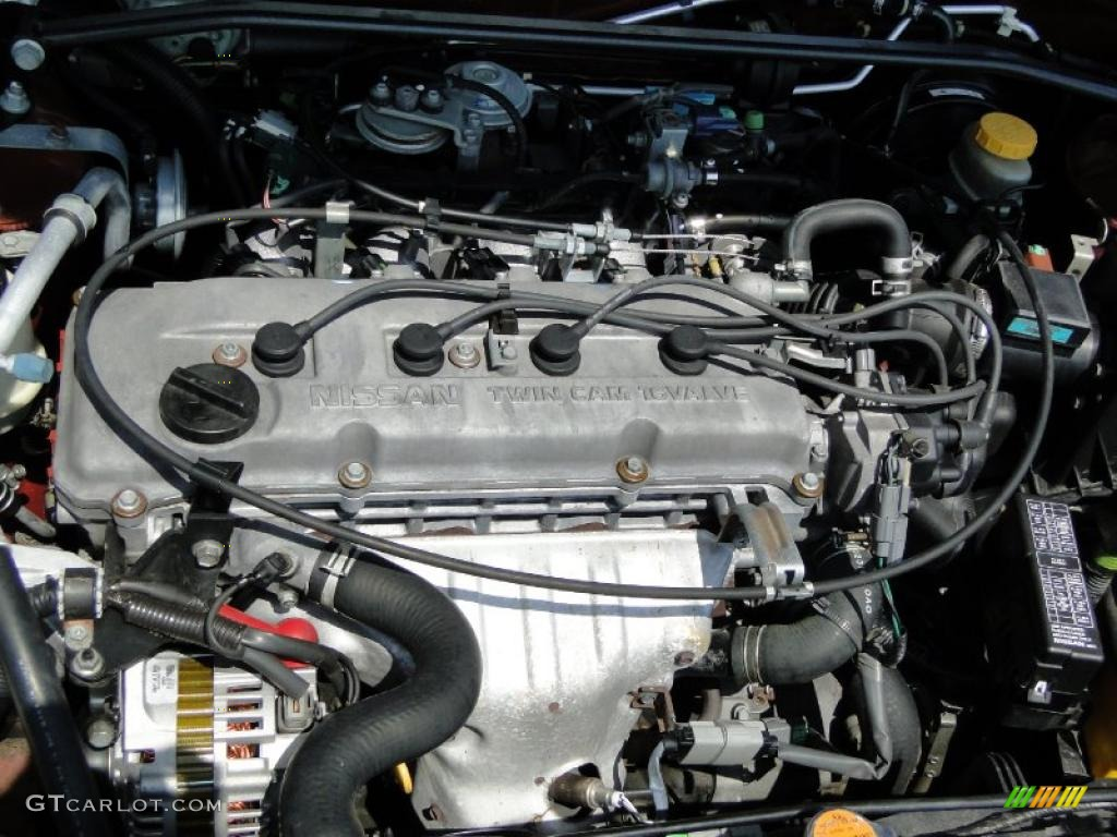 2000 nissan altima gle engine photos
