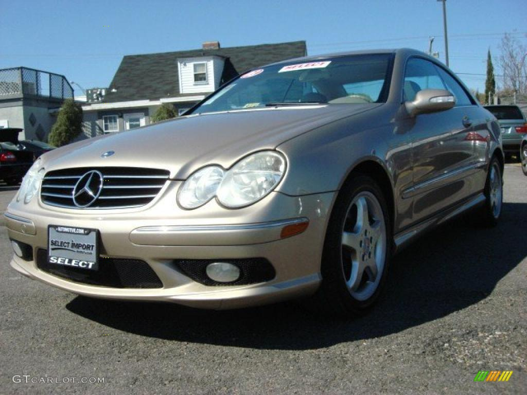 2003 Desert Silver Metallic Mercedes Benz Clk 500 Coupe