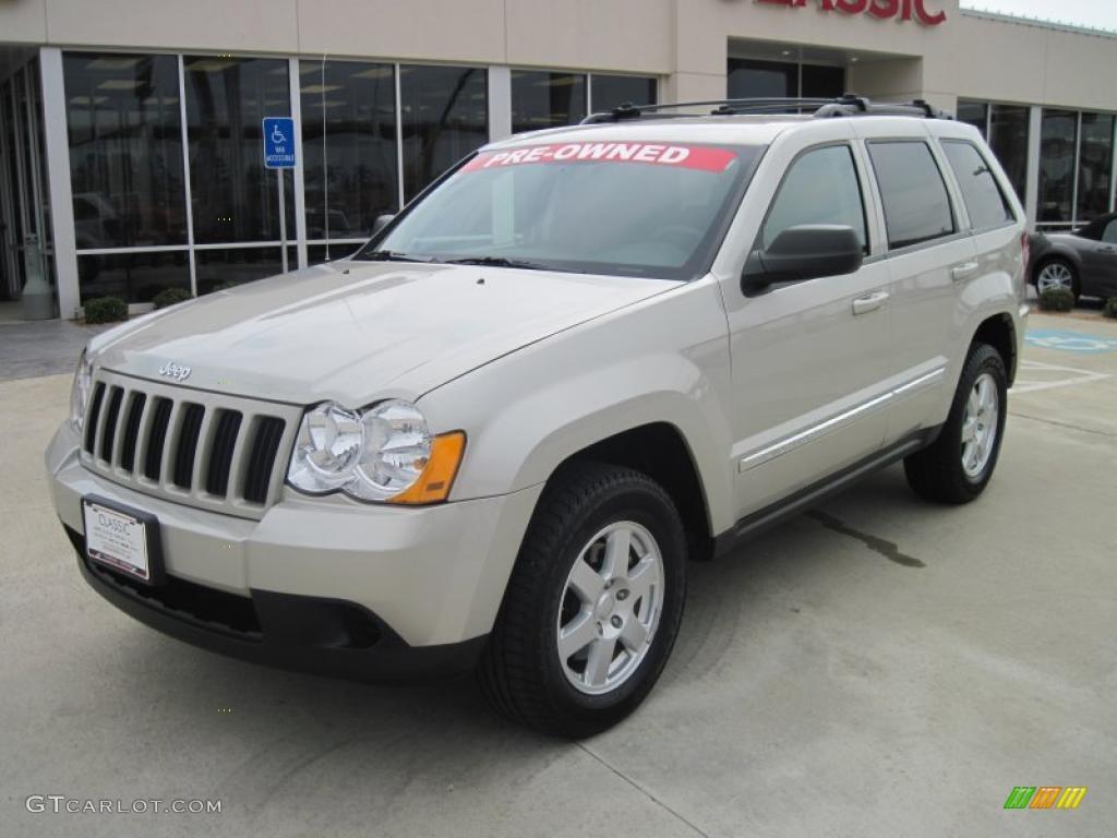 2010 light graystone pearl jeep grand cherokee laredo #47858657