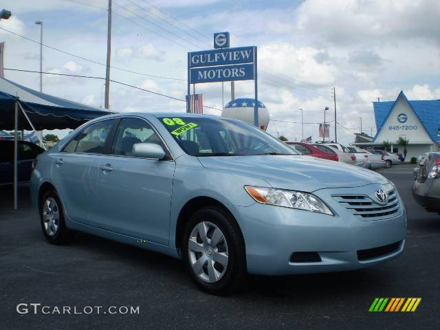2008 sky blue pearl toyota camry le 442108 car color galleries. Black Bedroom Furniture Sets. Home Design Ideas