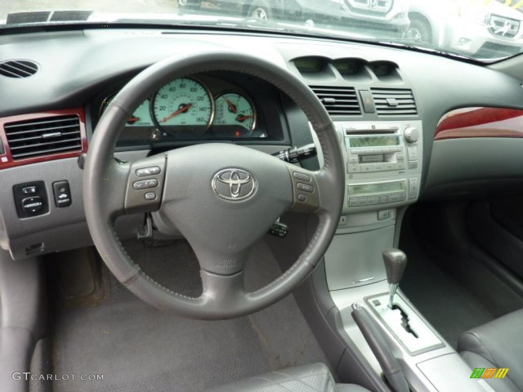 Dark Stone Gray Interior 2004 Toyota Solara Sle Coupe