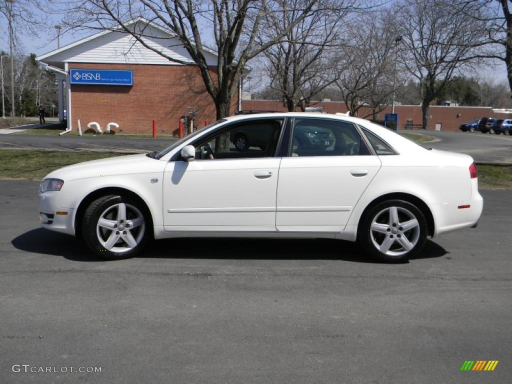 arctic white 2005 audi a4 2 0t quattro sedan exterior. Black Bedroom Furniture Sets. Home Design Ideas