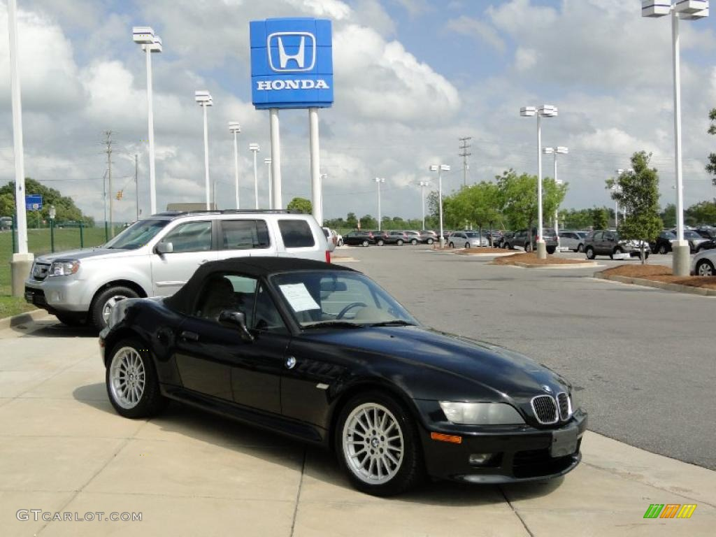 Jet Black 2001 Bmw Z3 3 0i Roadster Exterior Photo