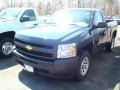 2011 Imperial Blue Metallic Chevrolet Silverado 1500 Regular Cab  photo #1