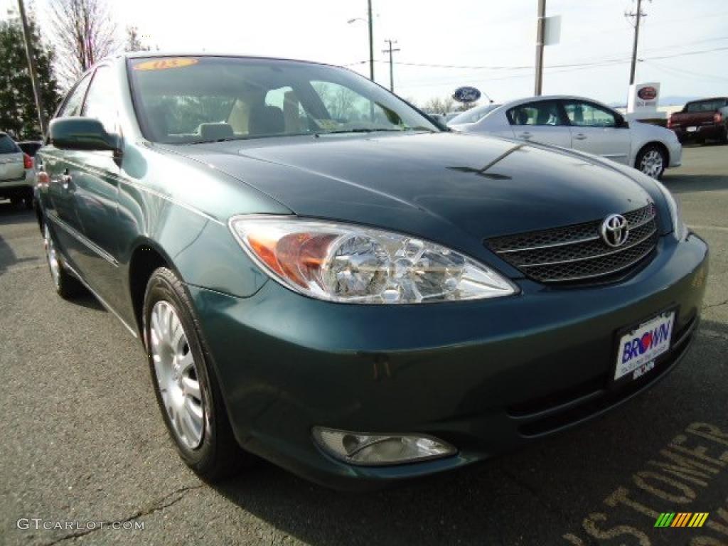 2003 Aspen Green Pearl Toyota Camry Xle 47867201 Gtcarlotcom