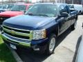 2011 Imperial Blue Metallic Chevrolet Silverado 1500 LT Extended Cab  photo #1