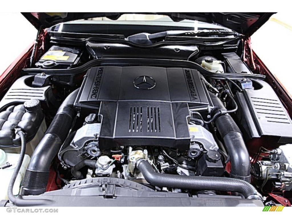 1997 mercedes benz sl 500 roadster 5 0 liter dohc 32 valve for Mercedes benz v8 engine
