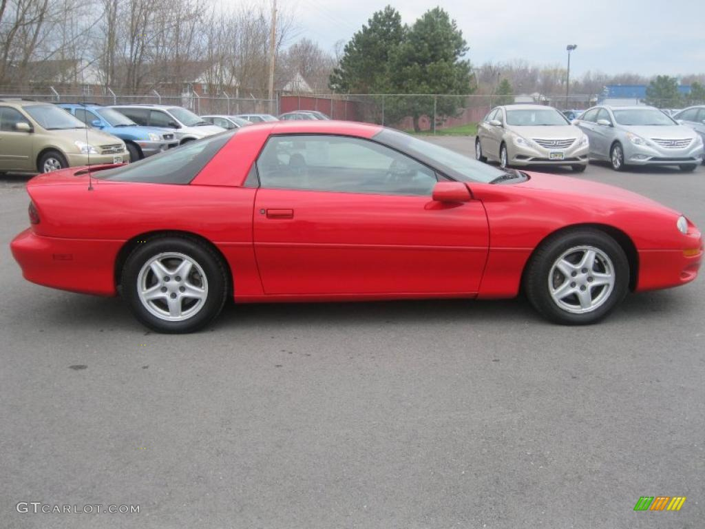 Bright red 1998 chevrolet camaro coupe exterior photo for 1998 camaro window motor