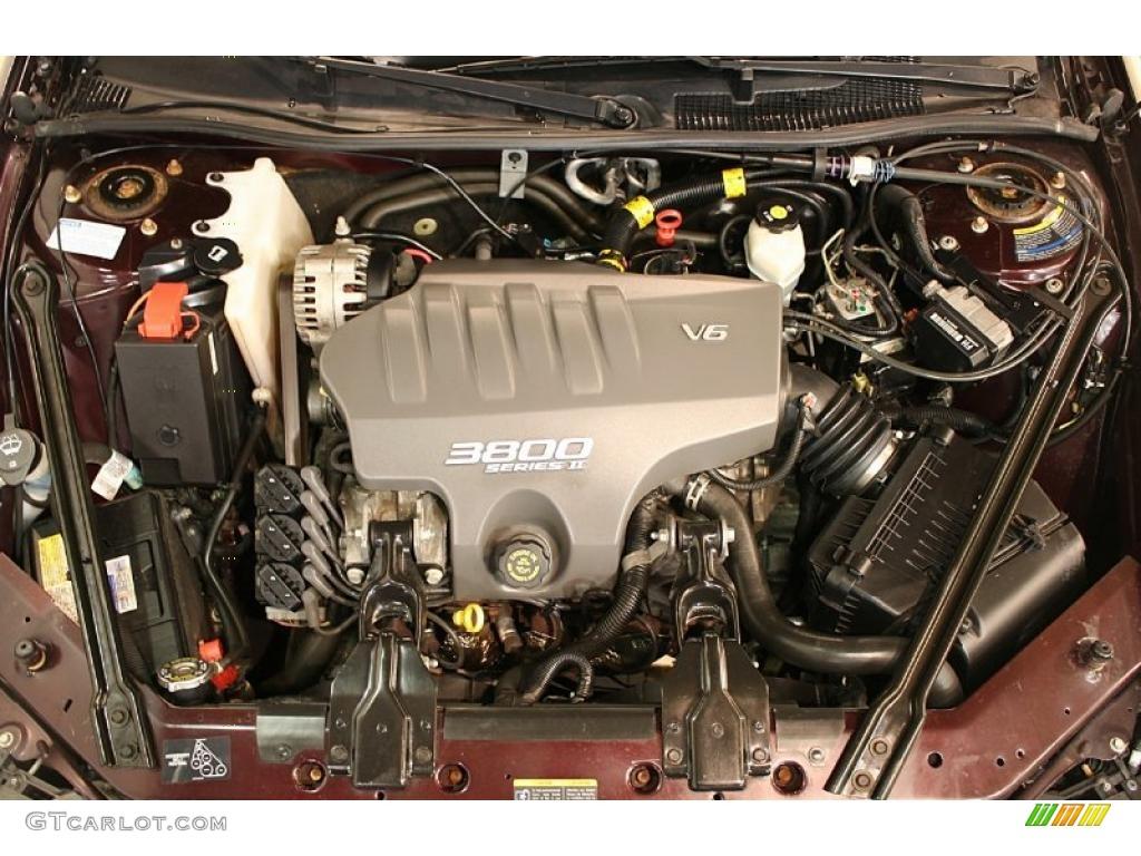 2002 Pontiac Grand Prix Gt Sedan 3 8 Liter 3800 Series Ii
