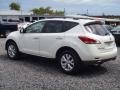 2011 Glacier White Pearl Nissan Murano SL  photo #2