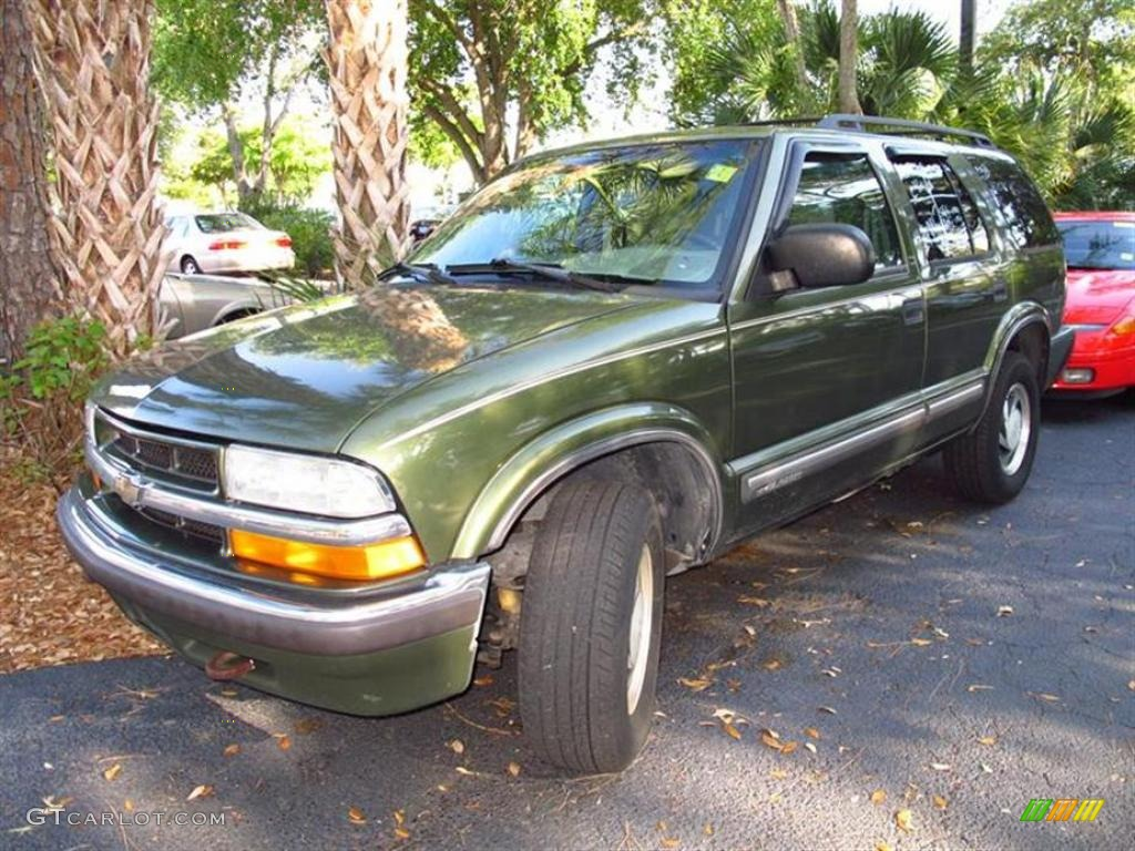 2001 Forest Green Metallic Chevrolet Blazer Lt 4x4 47905635 Gtcarlot Com Car Color Galleries