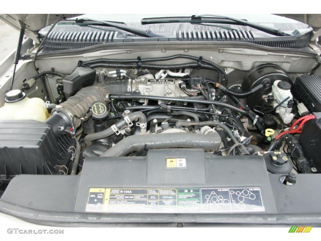2004 Mercury Mountaineer V8 AWD 4.6 Liter SOHC 16 Valve V8 Engine Photo  #47943768