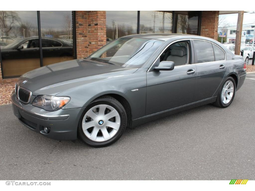 2006 Bmw 750i >> 2008 Titanium Grey Metallic BMW 7 Series 750i Sedan #47905862 | GTCarLot.com - Car Color Galleries