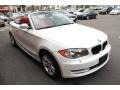 Front 3/4 View of 2008 1 Series 128i Convertible
