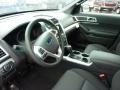 Charcoal Black Interior Photo for 2011 Ford Explorer #47950959