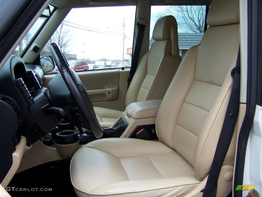 2003 Land Rover Discovery S Interior Color Photos