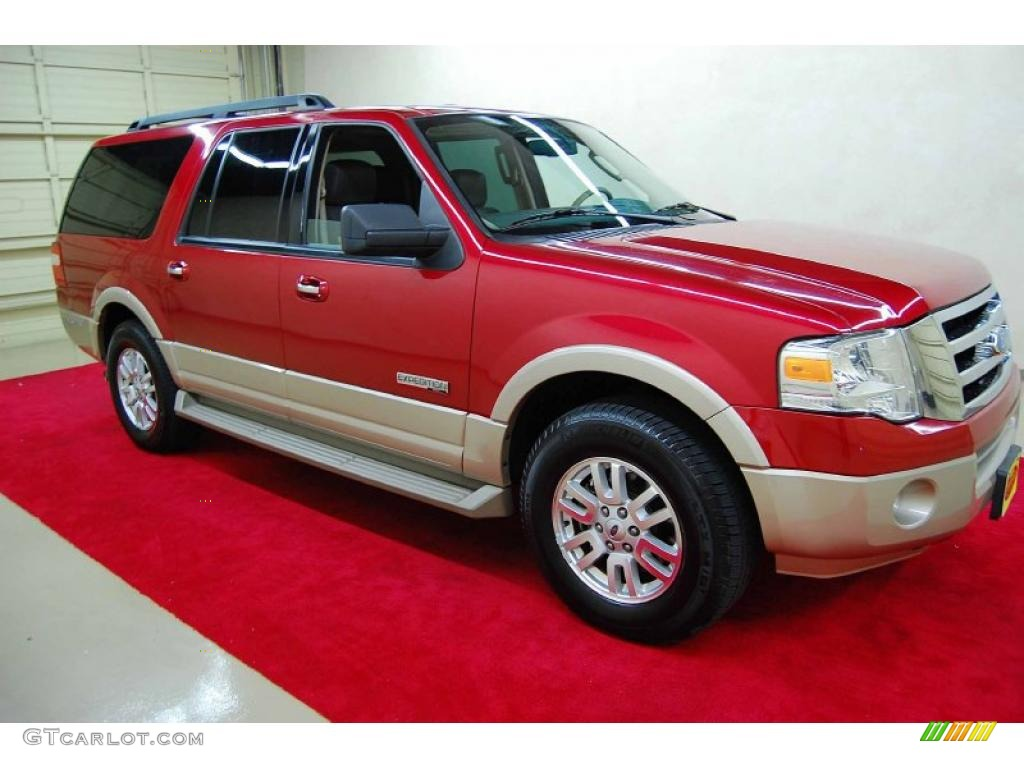 2007 redfire metallic ford expedition el eddie bauer 47905914 car color galleries. Black Bedroom Furniture Sets. Home Design Ideas