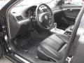2009 Aura XR V6 Black Interior