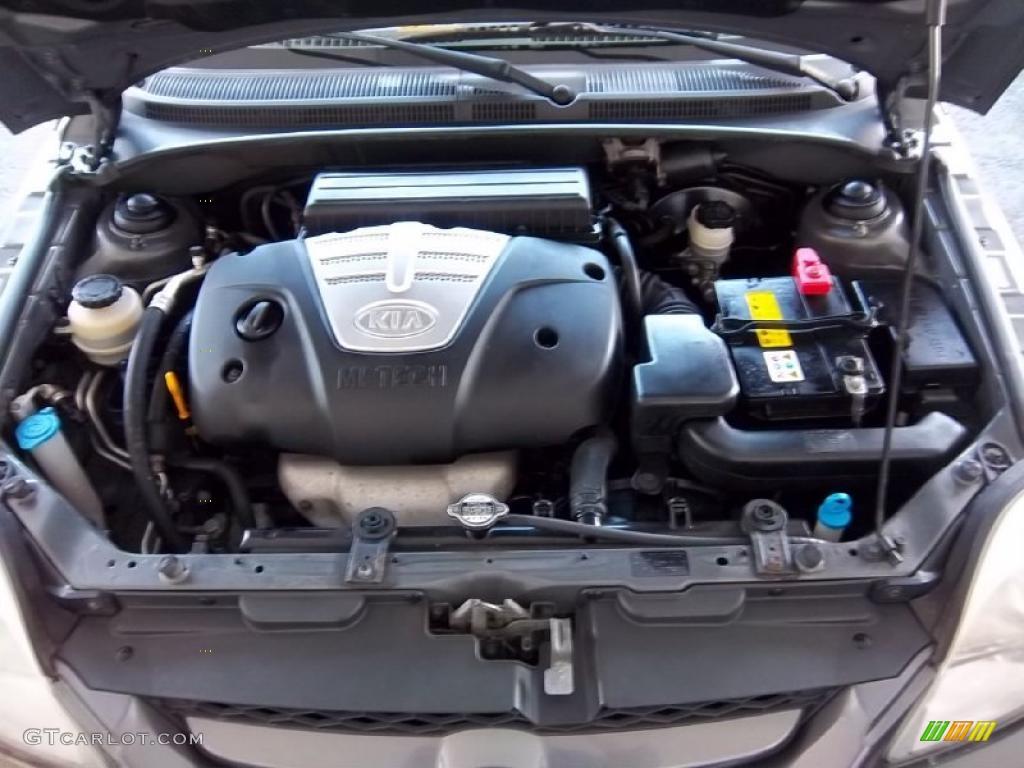 2004 kia rio sedan 1 6 liter dohc 16 valve 4 cylinder