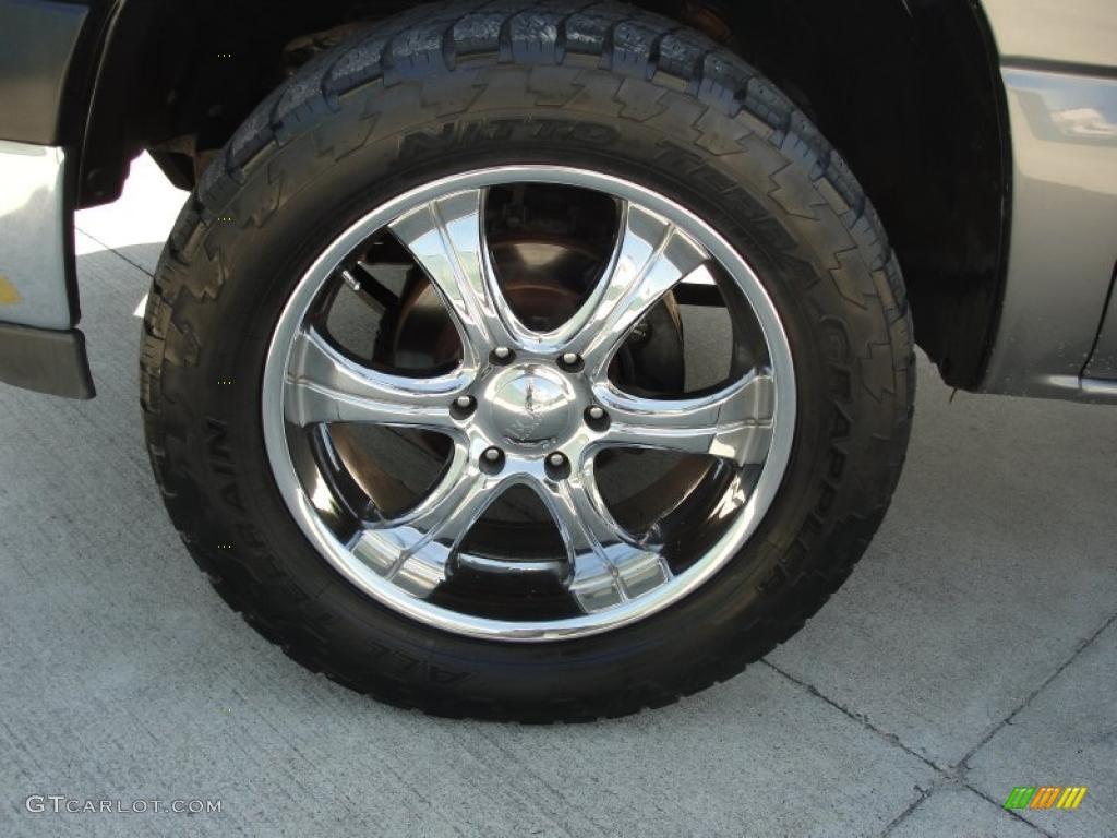 2002 Chevrolet Silverado 1500 LS Extended Cab 4x4 Custom Wheels Photo #47970689