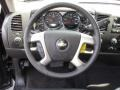 Ebony Steering Wheel Photo for 2011 Chevrolet Silverado 1500 #47987133