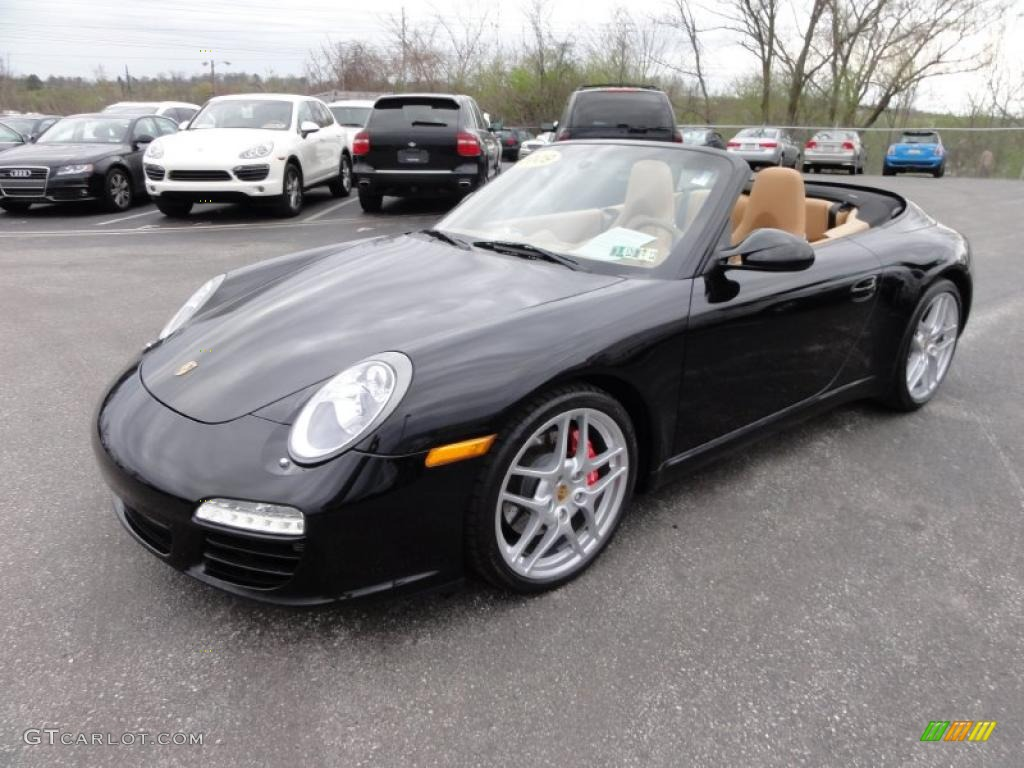 black 2009 porsche 911 carrera s cabriolet exterior photo. Black Bedroom Furniture Sets. Home Design Ideas