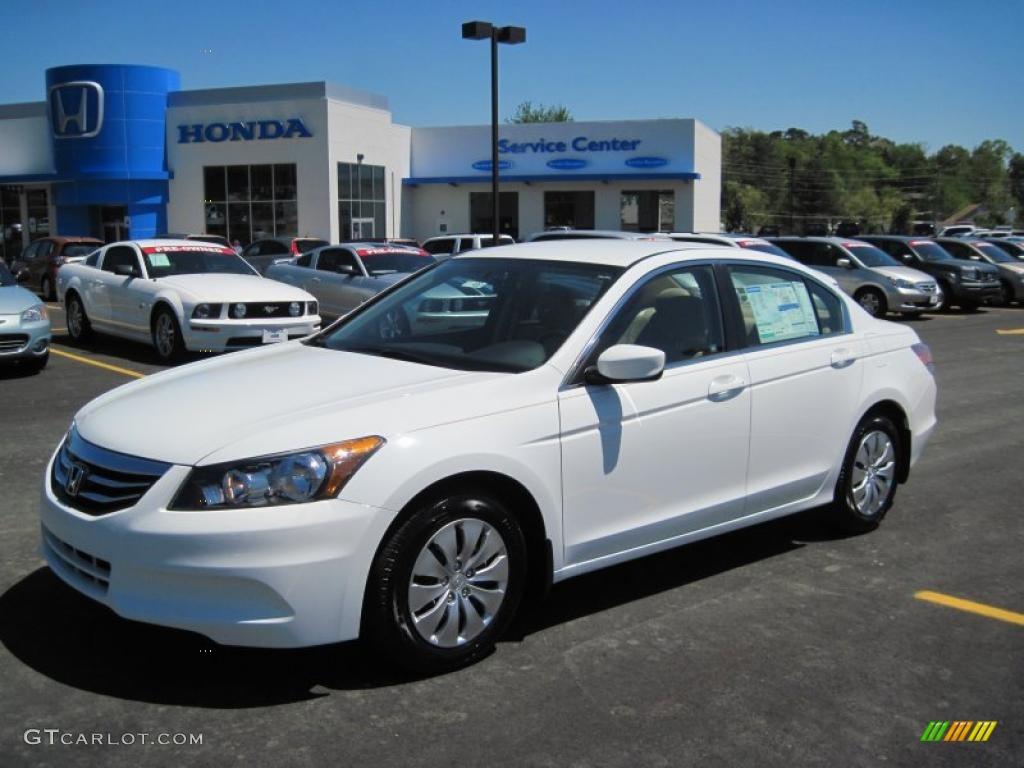 2011 Taffeta White Honda Accord Lx Sedan 47966092