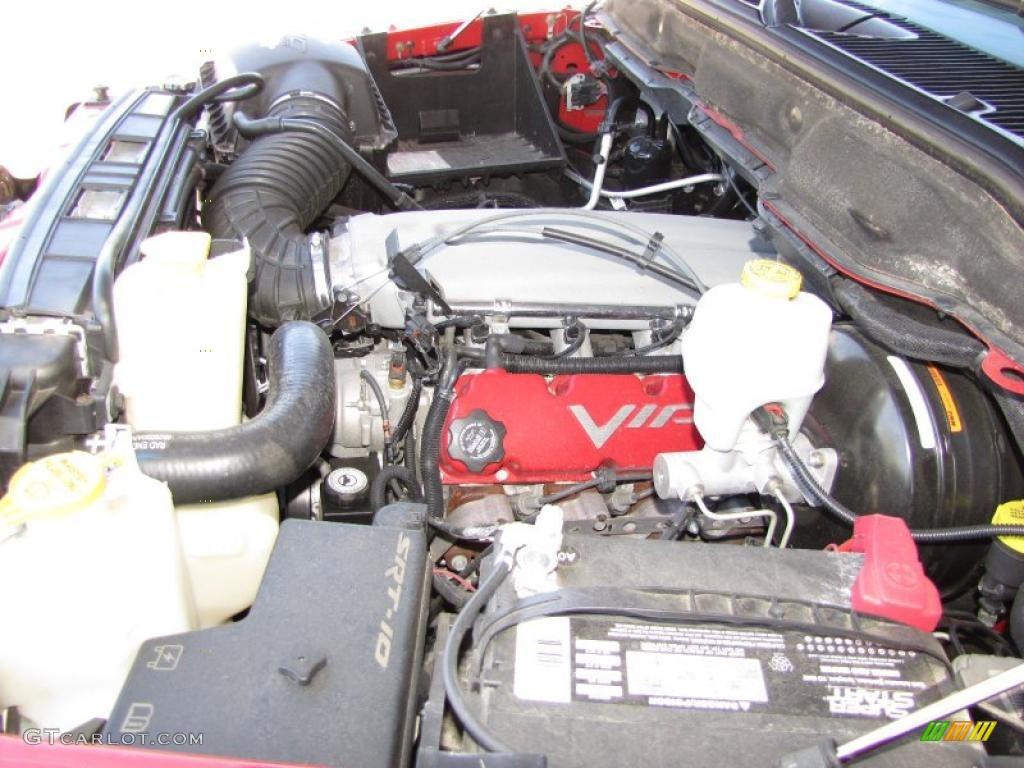 2005 dodge ram 1500 srt 10 regular cab 8 3 liter srt ohv 20 valve v10 engine photo 48010999. Black Bedroom Furniture Sets. Home Design Ideas