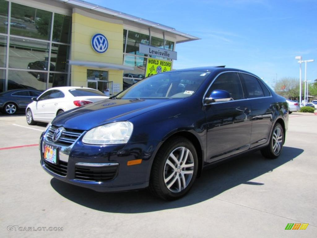 2006 shadow blue metallic volkswagen jetta tdi sedan 47966125 car color galleries. Black Bedroom Furniture Sets. Home Design Ideas